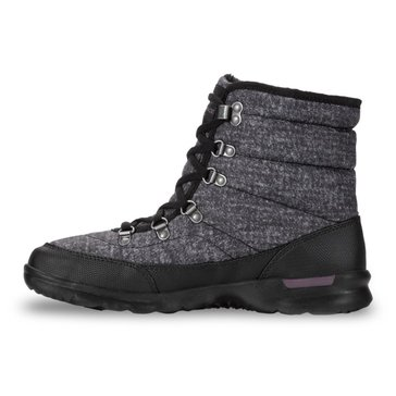 The North Face Women's Thermoball Lace Boot Burnished Houdstooth Print/Black
