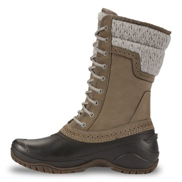 The North Face Women's Shellista II Mid Split Rock Brown/ Dove Grey