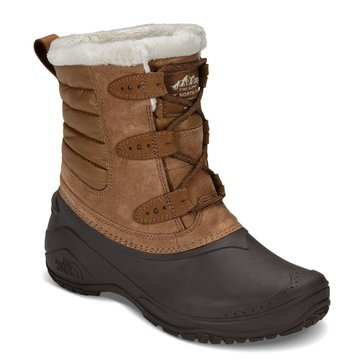 The North Face Women's Shellista II Shorty Dachschund Brown/ Vintage White