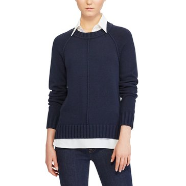 Lauren Ralph Lauren Gristan Sweater in Real Navy
