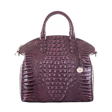 Brahmin Large Duxbury Satchel Fig Melbourne