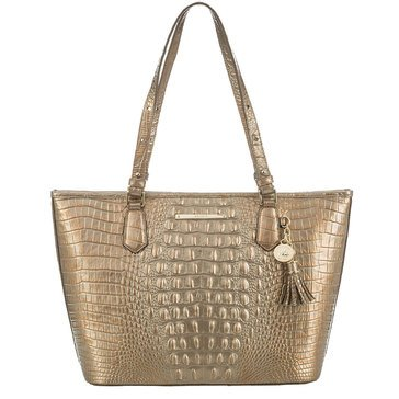 Brahmin Medium Asher Tote Rose Gold Melbourne