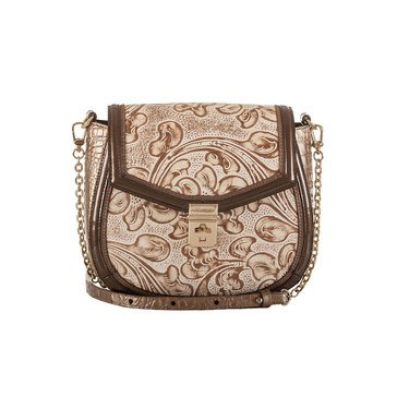 Brahmin Lizzie Crossbody Rose Gold Bourdelle