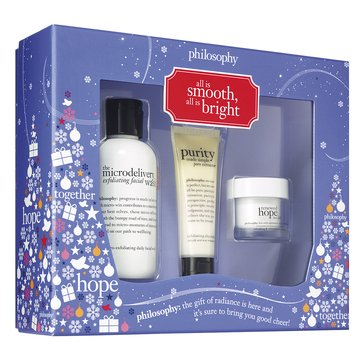 Philosophy All Is Smooth, All Is Bright Skincare Set
