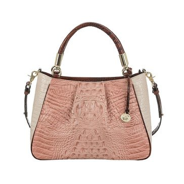 Brahmin Ruby Satchel Marquis Chambery
