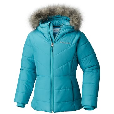 Columbia Big Girls' Katelyn Crest Jacket, Pacific Rim