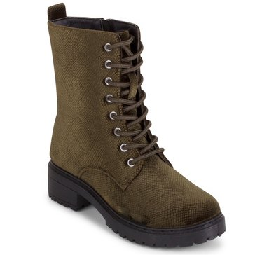 Wanted Patrol Velvet Boot Olive
