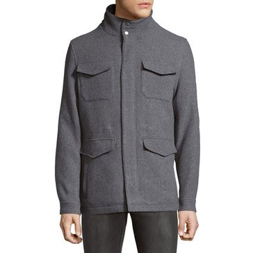 MICHAEL KORS ASHLAND WOOL FIELD COAT MHG