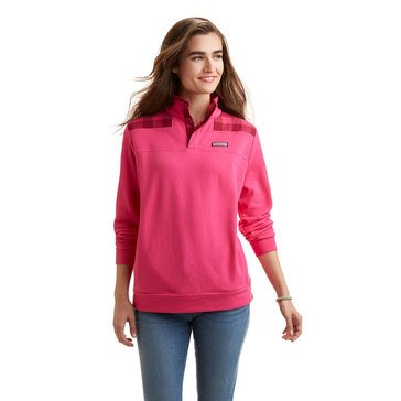 Vineyard Vines Buffalo Check Shoulder Shep Shirt in Rhododendron