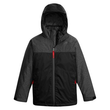 The North Face Big Boys' Chimborazo Triclimate Jacket, Black