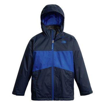 The North Face Big Boys' Chimborazo Triclimate Jacket, Bright Cobalt Blue