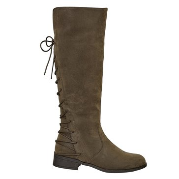 Pierre Dumas City 10 Back Lace Tall Boot Brown