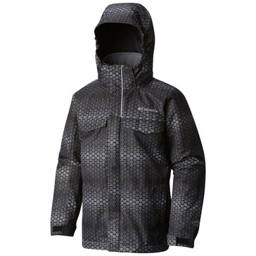 Columbia Big Boys' Bugaboo Interchange Jacket, Graphite