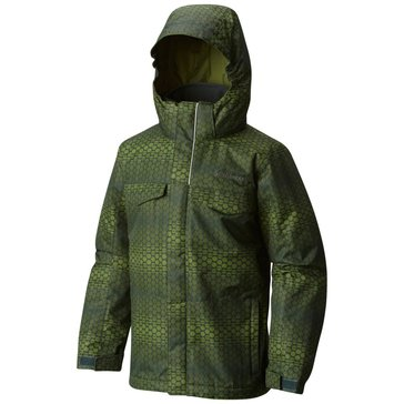 Columbia Big Boys' Bugaboo Interchange Jacket, Green