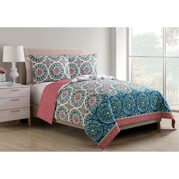 Zinnia 3-Piece Quilt Set - King