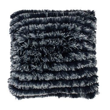 Thro Parisian Night Effie Faux Fur Long Pile 20 x 20 Pillow