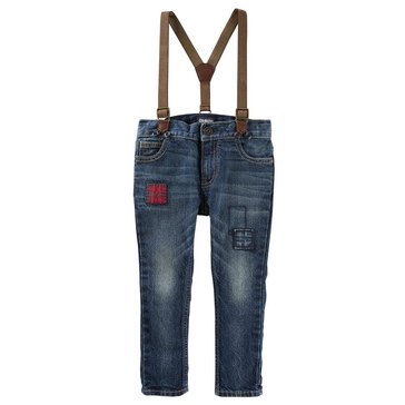 OshKosh Baby Boys' Suspender Jeans
