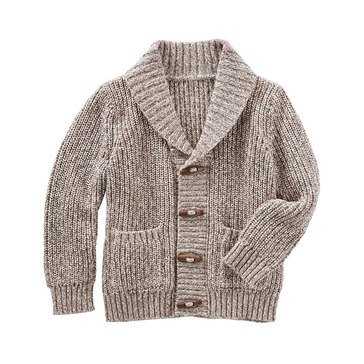 OshKosh Baby Boys' Shawl Collar Cardigan