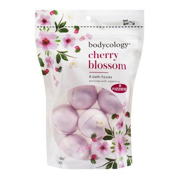 Bodycology Cherry Blossom Bath Fizzies, 8ct