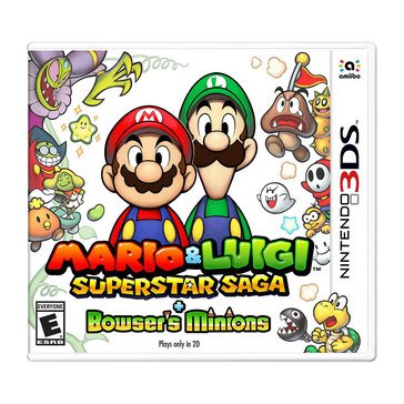 3DS Mario & Luigi: Superstar Saga + Bowser's Minions