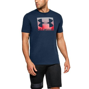 Under Armour Men's Boxed Sportstyle Short Sleeve Tee in Academy Blue