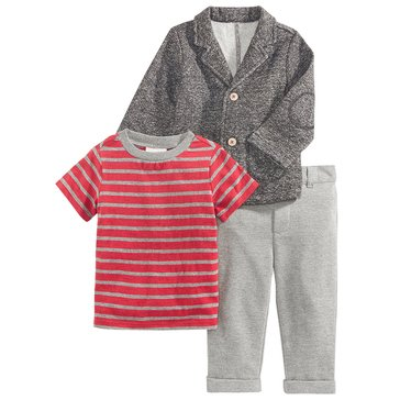 First Impressions Baby Boys' Knit Blazer Set