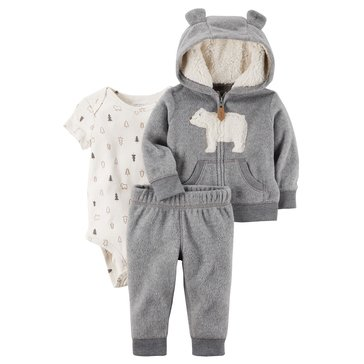 Carter's Baby Boys' 3-Piece Cardigan Set
