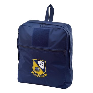 Flying Circle Blue Angels Seal/Logo Medium Backpack