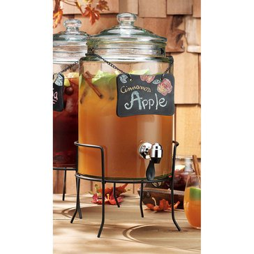Home Essentials 1.5 Gallon Del Sol Chalkboard Beverage Dispenser