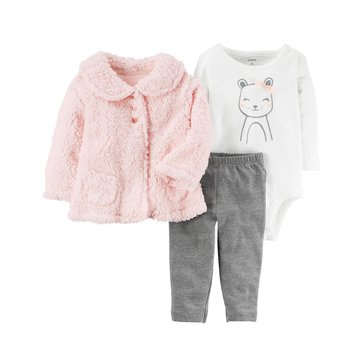 Carter's Baby Girls' 3-Piece Legging Set
