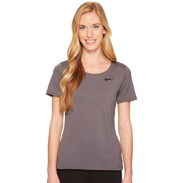 Nike Women's Short Sleeve All Over Mesh Pro Top