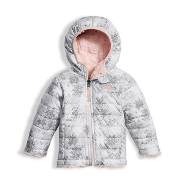 The North Face Baby Girls' Reversible Mossbug Swirl Hoodie, Fair Isle