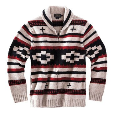 Pendleton Full Zip Collar Cardigan