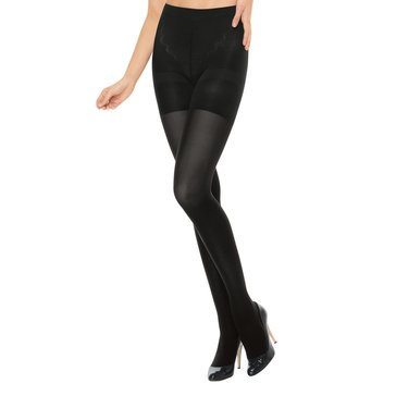Red Hot by Spanx Shaping Tights Black