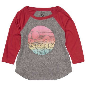 Billabong Big Girls' Morning Sunshine Tee, Ice Athletic Grey