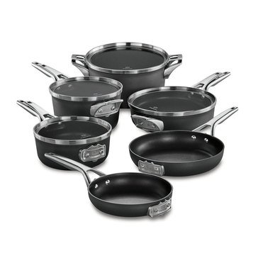 Calphalon Premier Hard Anodized Nonstick 10-Piece Cookware Set