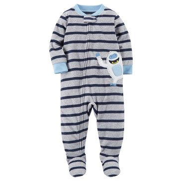 Carter's Little Boys' Fleece Stripe Yeti App