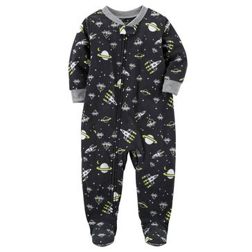 Carter's Little Boys' Fleece Pajamas Space Print