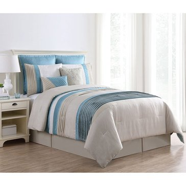 Harbor Home Gold Collection Lena 8-Piece Comforter Set - Queen