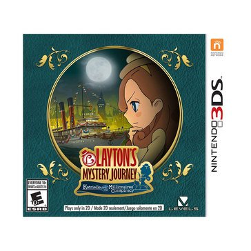 3DS Layton's Mystery Journey: Katrielle & The Millionaire's Conspiracy
