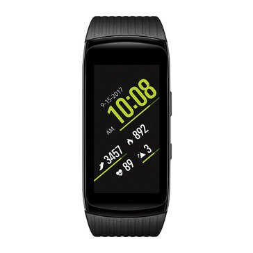 Samsung Gear Fit2 Pro Smartwatch, Black - Large