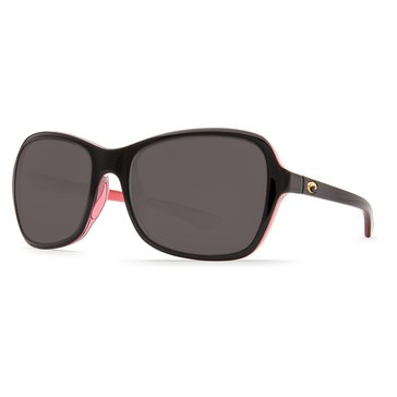 Costa Women's Kare Sunglasses KAR132 OGP, Polarized 53.7mm