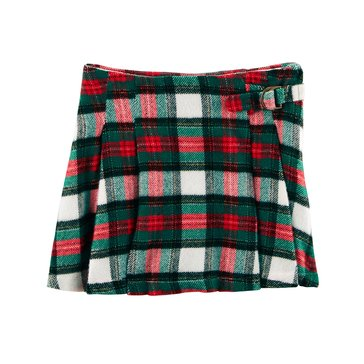 Carter's Toddler Girls' Plaid Flannel Skirt