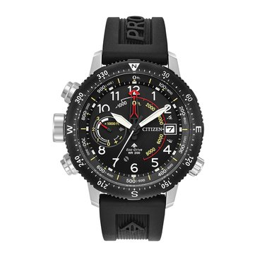 Citizen Men's Eco-Drive Promaster Altichron Black Watch, 46mm