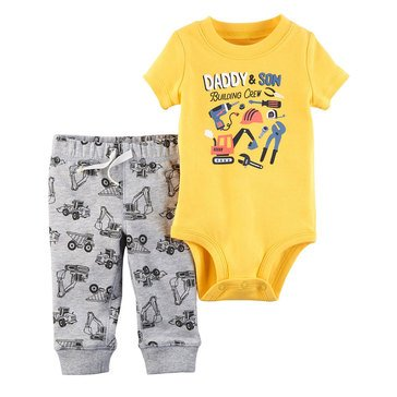 Carter's Baby Boys' Bodysuit Pant Set, Tools