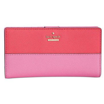 Kate Spade Cameron Street Stacy Wallet Bright Flamingo