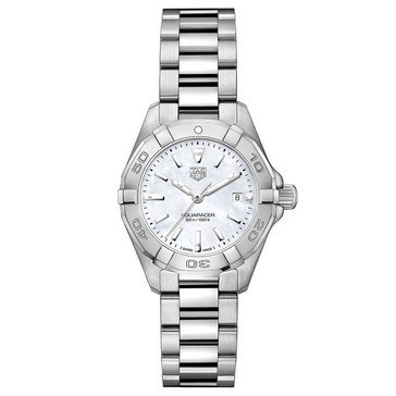 Tag Heuer Women's Aquaracer Stainless Steel Watch, 27mm