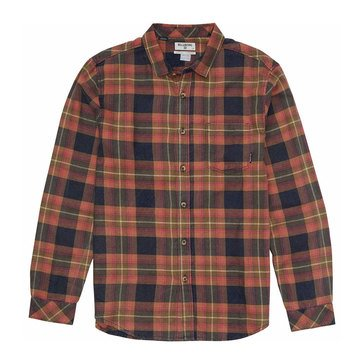 Billabong Men's Freemont Long Sleeve Flannel Plaid Shirt