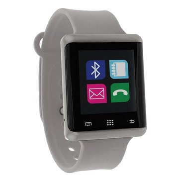 American Exchange Unisex iTouch Air Smart Watch, Gray 45mm