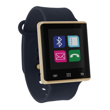 iTouch Unisex Air Gold/Navy Smartwatch, 41mm